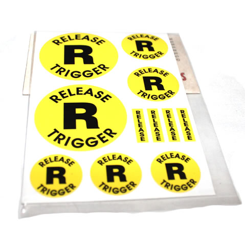 Release Trigger Stickers